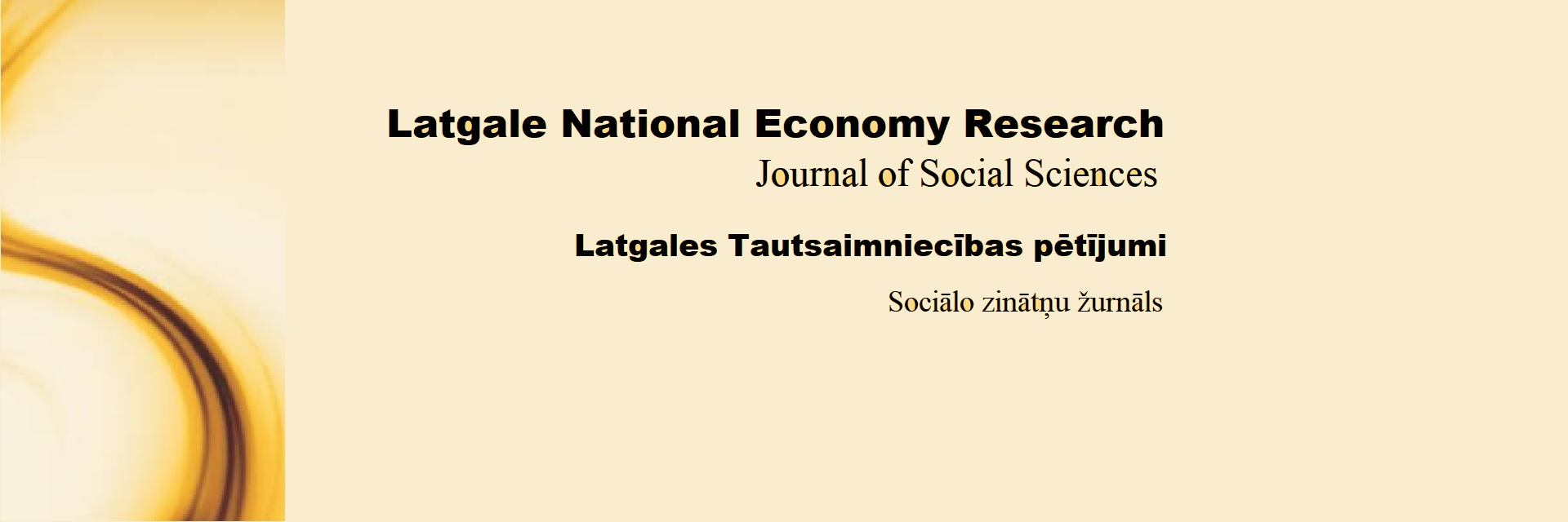 Latgale National Economy Research